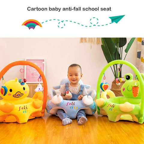 Support Seat Cover Baby Plush Chair