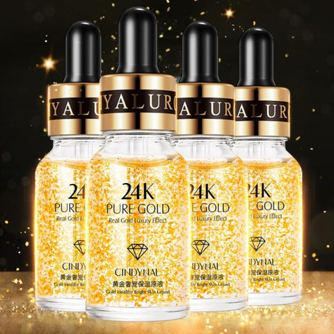 24K Golden Face Essence Oil Anti-wrinkle Moisturizing Face Serum