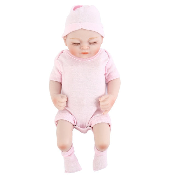 Newborn  Soft Silicone  Baby Doll Toddler