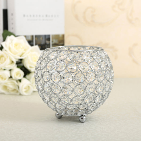 Moroccan Crystal Glass Centerpiece