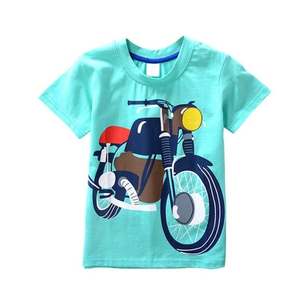 Boys Casual Shirt Short Sleeve