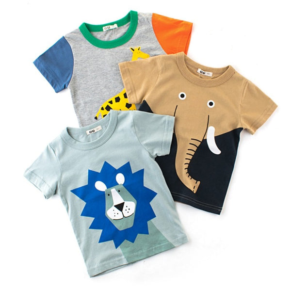 Boys Summer Shirt  Animal