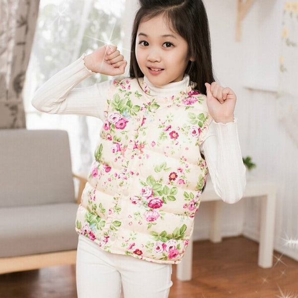 Girls Vest Jacket
