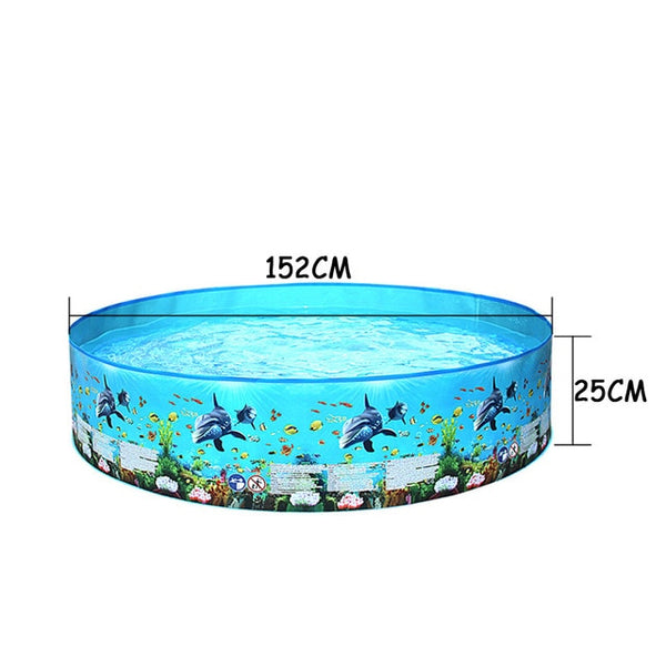 Round Inflatable Swimming Pool