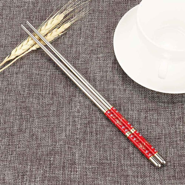 Reusable Stainless Steel Chopsticks