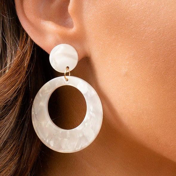 Abigail Earrings - Neutrals