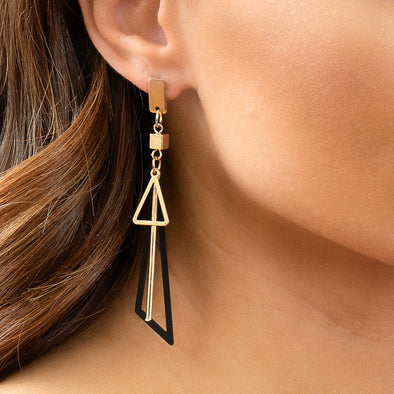 Amalia Earrings - Black