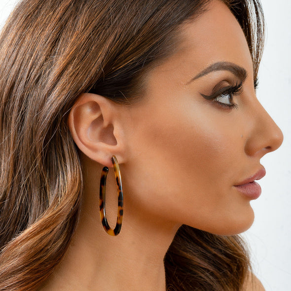 Carmen Earrings - Dark