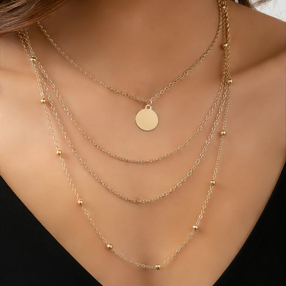 Hot Fire Necklace - Gold