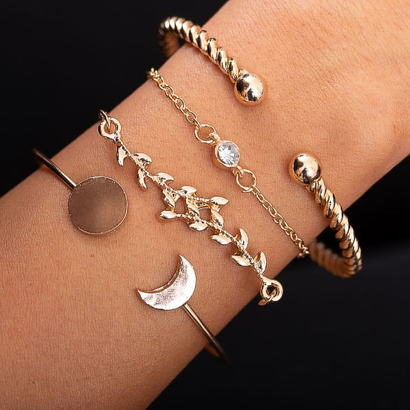 Julia 4pc Bracelet Set
