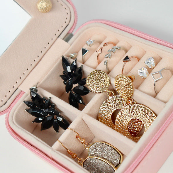 Mini Travel Case - Pink