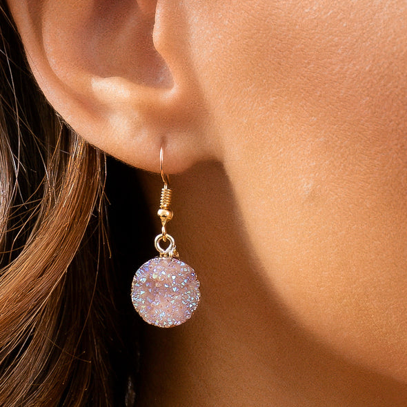 Zoe Crystal Earrings - NEW COLORS!