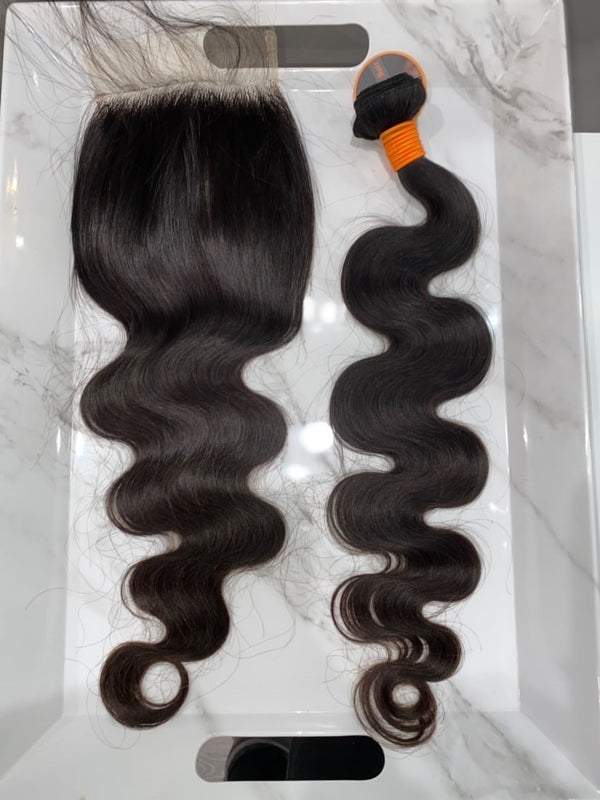 5 by 5 Body Wave Closure