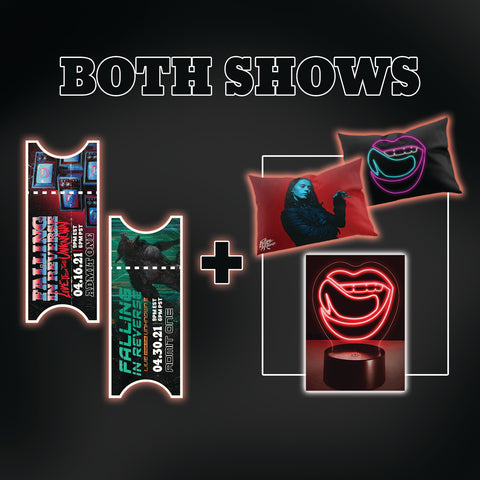 Vamped Bedroom Bundle + Both Tickets