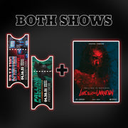 Both Show Digital Tickets + Poster