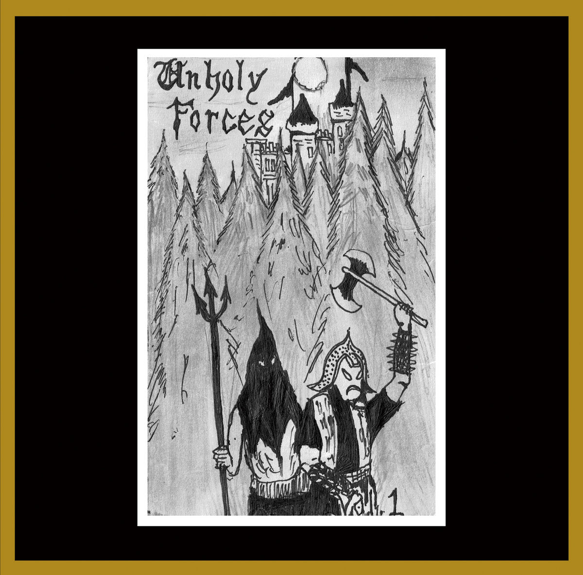 Unholy Forces Comp #1 CD