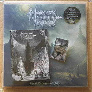 Age of Darkness and Frost LP + CD + Pin BUNDLE