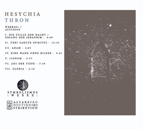 Hesychia - Thron CD