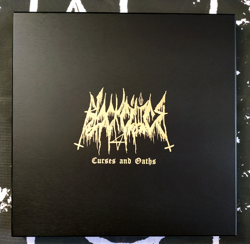 Black Cilice - Curses and Oaths 3LP woodbox