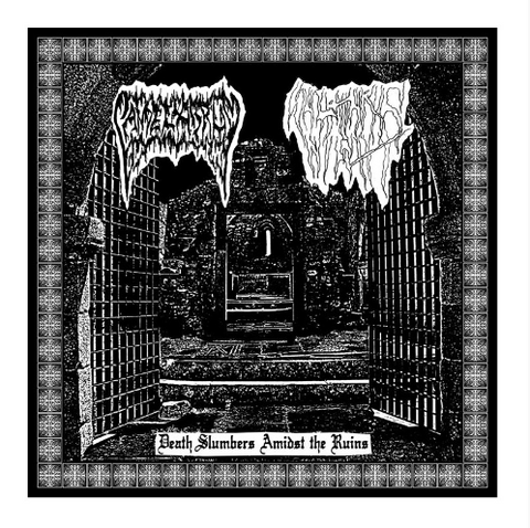 Sulphuric Night / Candelabrum - Death Slumbers Amidst the Ruins MC