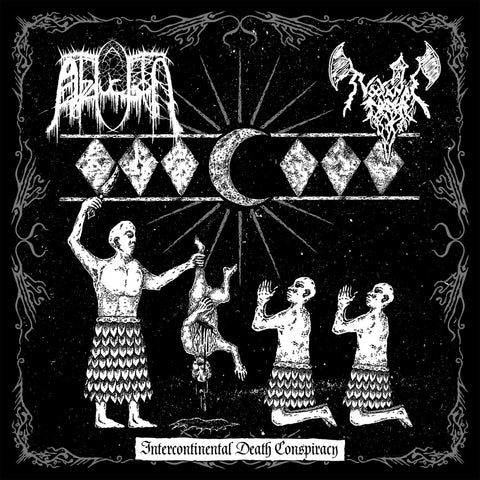 Abduction/Nocturnal Prayer - Intercontinental Death Conspiracy LP