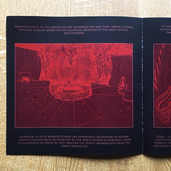 To The Great Monolith II DELUXE RED LP