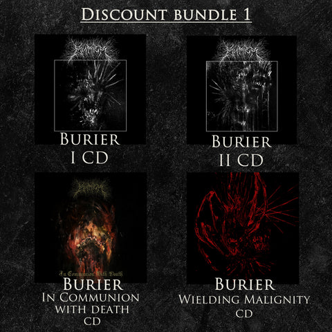 Burier CD Bundle