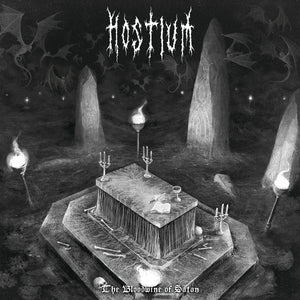 Hostium - The Bloodwine Of Satan LP