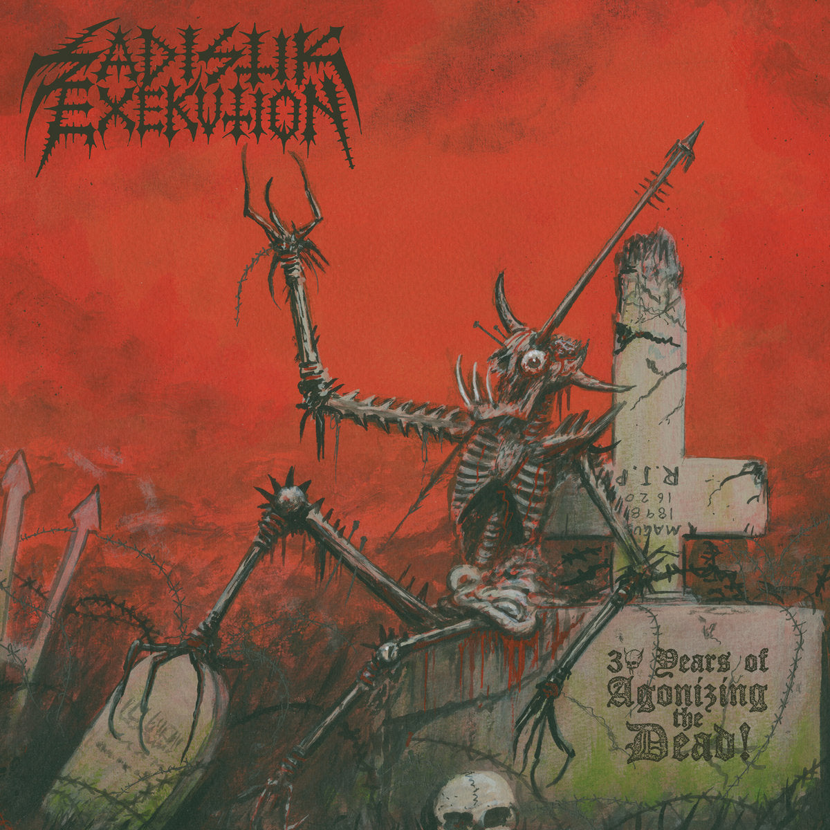 Sadistik Exekution - 30 Years of Agonizing the Dead LP