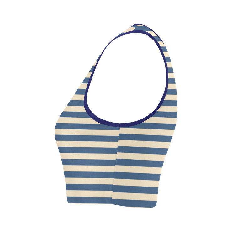 Smee Stripe Bra Top