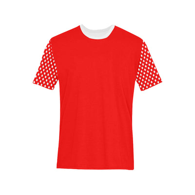 Polka Dots Split T-Shirt