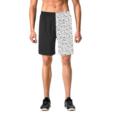 Dalmatian Split Swim Trunks