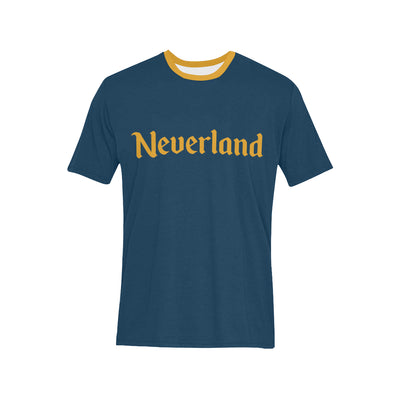 Neverland Mens Navy T-Shirt