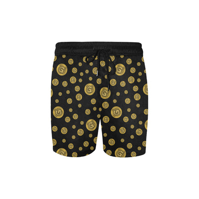 Gummi Black Swim Trunks