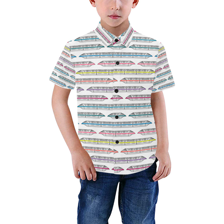 Monorail Kids Button Down