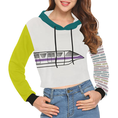 Monorail Cropped Hoodie
