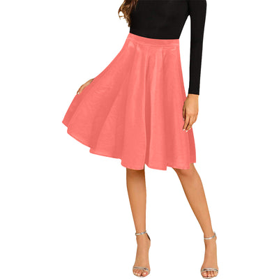 Dapper Transit Pleated Midi Skirt