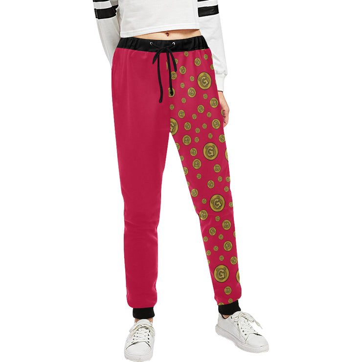 Gummi Womens Red Pants