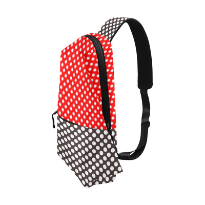Split Dot Chest Bag