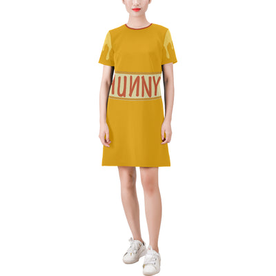 Hunny Drip T-Shirt Dress