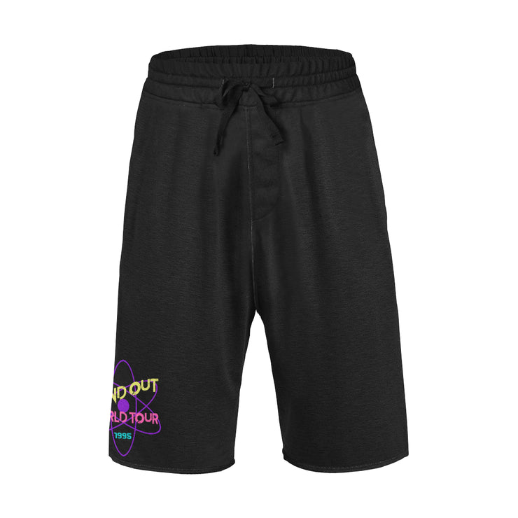 Powerline Black Mens Shorts
