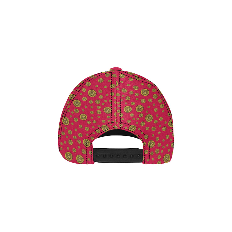 Gummi Red Dad Cap
