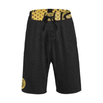 Gummi Mens Black Shorts