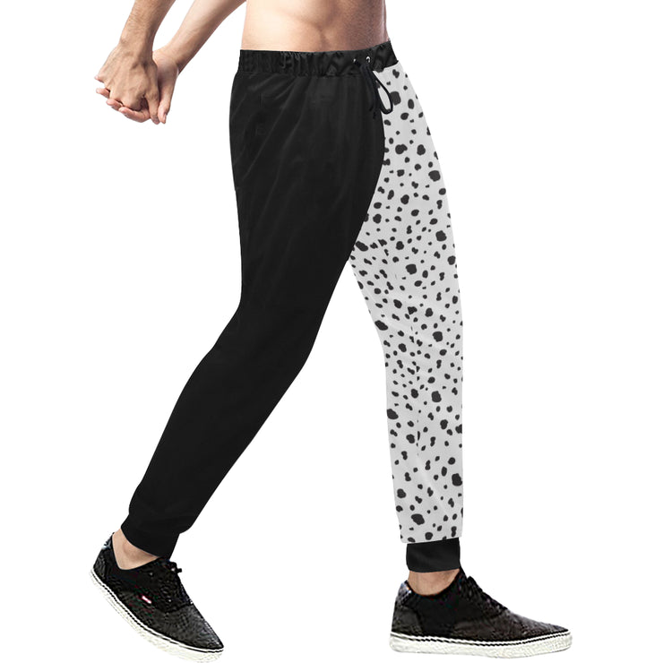 Dalmatian Mens Split Plus Size Pants