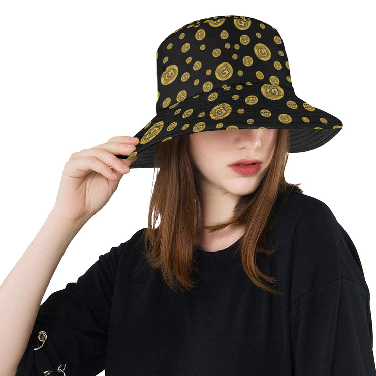 Gummi Black Bucket Hat