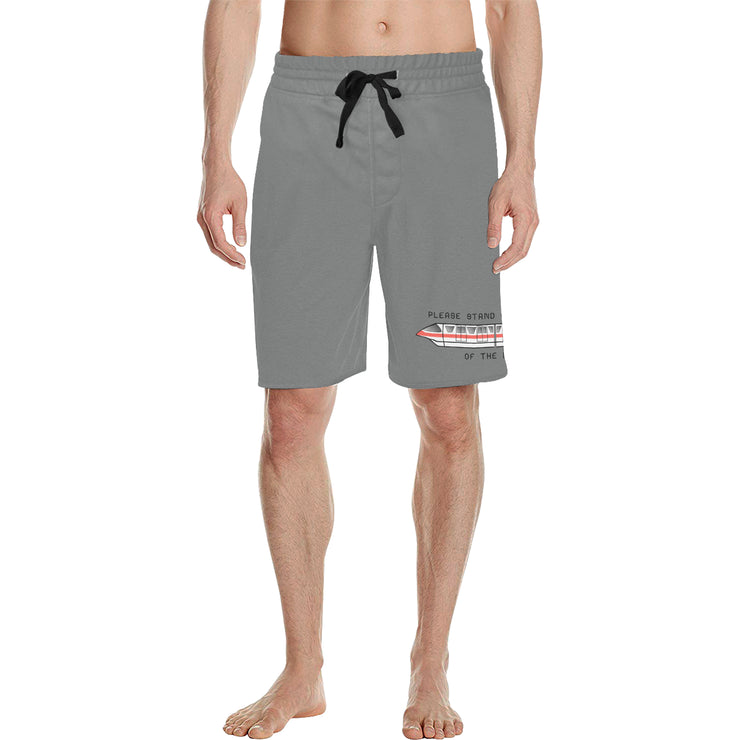 Monorail Mens Grey Shorts