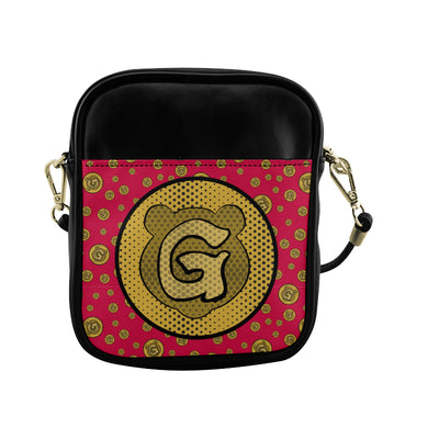 Gummi Red Sling Bag