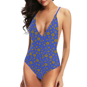 Gummi Blue One Piece Swimsuit