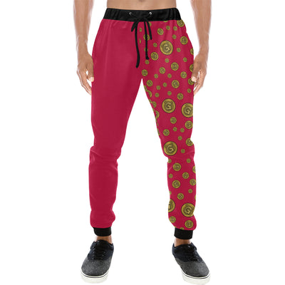 Gummi Mens Red Pants