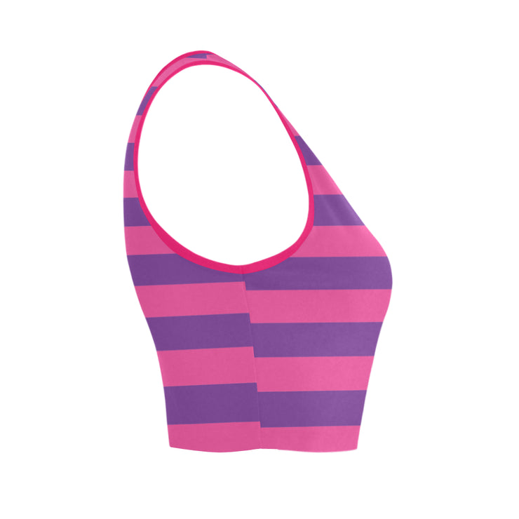 Cheshire Stripe Bra Top